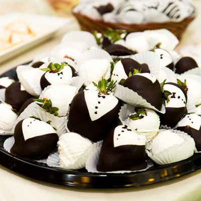 Chocolate Covered Strawberries Burke Reception